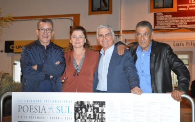 Aziz Tazi, Alicia Aza, José Sarria y Abdellatif Limami (Olhao, Portugal, 2017)