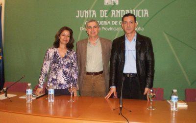 Rachida Gharrafi, José Sarria y Aziz Tazi (Córdoba, 2011).